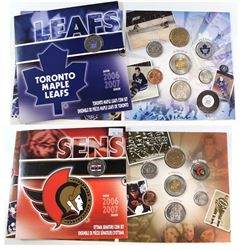 2006-2007 Canada NHL 7-coin Gift Set Collection. You will receive 2006 Ottawa Senators, 2006 Toronto