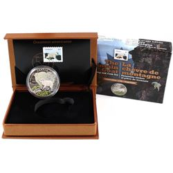 2015 Canada $20 Baby Animals - Mountain Goat Fine Silver Coin & Stamp Set Issued by Canada Post (Tax