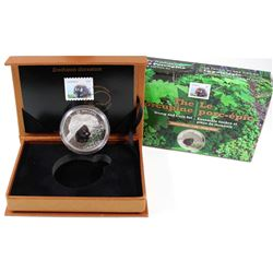 2016 Canada $20 Baby Animals - Porcupine Coin and Stamp Set Issued by Canada Post (Tax Exempt).