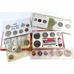 1968-1984 Canada Year set Collection. You will receive a 1968 PL set (impaired Packaging), 1969 6-co