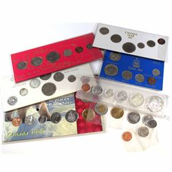 1965-2006 Canada Year Set Collection. You will receive a 1965 6-coin set in Acrylic Holder, 1968 8-c
