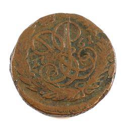 Russia 1761 2 Kopeks Fine