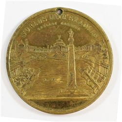 1904 USA Worlds Fair St. Louis Medallion Extra Fine (holed)