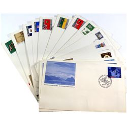 Stamps; Canada Post First Day Issue Stamp Collection. You will receive 26 Different Stamp Designs. T