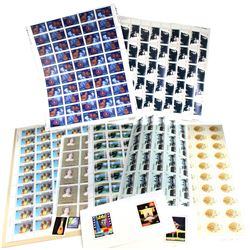 Estate Lot of Canadian Collector Stamps. Most in Blocks of 2 or more. $100 Face Value.
