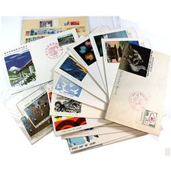 Japan First Day Cover and Stamp Collection. You will receive 18 Different First Day Covers, accompan