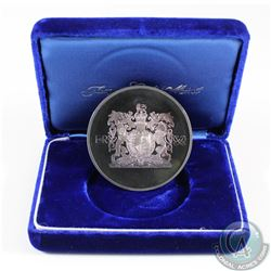 1972 The Jacques Cartier Mint Sterling Silver Limited Edition Silver Anniversary medal (toned). Meda