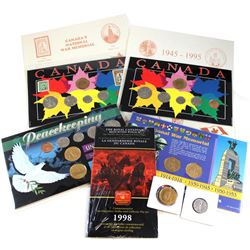 Estate Lot Canada Commemorative Coin Collection. You will receive a 1994 War Memorial Stamp & 6-coin