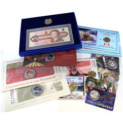 Estate Lot 1996-2017 Canada RCM Collector Lot. You will receive a 1996 Last 2 Dollar Bill & 1st 2 Do
