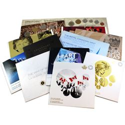 2003-2016 Canada Collector Card Collection. You will receive a 2003 Coronation 6-coin set, 2005 Vict