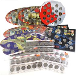 1992-2010 Canada Commemorative Coin set Collection. You will receive 5x 1992 Sets, 4x 1999 sets. 4x