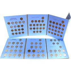 Estate Lot of Canada small cent & Nickel Collection in Whitman folder. This lot contains the followi