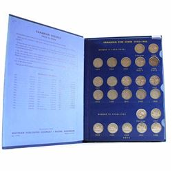 Estate Lot of 1922-1967 Canada Nickel Collection. You will receive one of each date including some C
