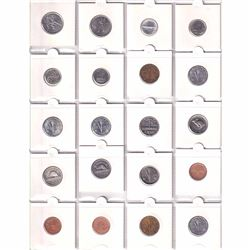 Estate Collection of Canada Commemorative 1-cent to Loon Dollar coins with Numis presentation folder
