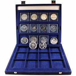 1981-2006 Canada Commemorative Brilliant Uncirculated Silver Dollar Collection. You will receive the