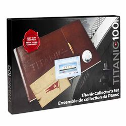 2012 Canada Titanic 2-Coin and Stamp Collector's Set (1912-2012). Please note outer cardboard box is