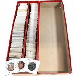 *Estate Lot of 1900-2010 Canada 1-cent Collection. You will receive 290 pcs dated between 1900-2010.