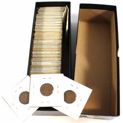 Estate Lot of Mixed 1910-1950 Canada 1-cent Collection. You will receive 60 pcs.