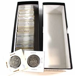 Estate Lot of 1968-2007 Canada 50-cent Collection. You will receive 61pcs.
