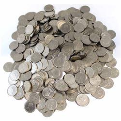*Estate Lot of 1973 Canada RCMP Commemorative 25-cent Coins. 537pcs