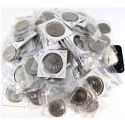 *Estate Lot of Mixed Canada Nickel Dollars 1968-1986. 94pcs