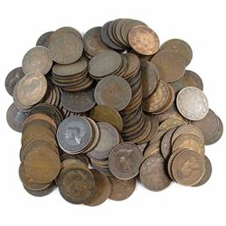 *Mixed Lot of Canada Edward VII Large cents. 147pcs