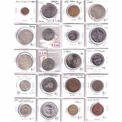 Estate Lot of 32x Miscellaneous Tokens/Medallions. 32pcs