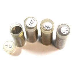 *Estate Lot of 1922-1928 Canada Full and Partially Full 5-cent Plastic Tube Roll. You will receive 1