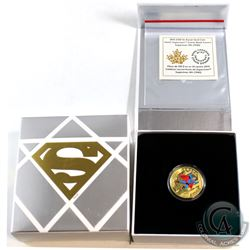 2015 Canada $100 Iconic Superman Comic Book Covers: Superman #4 14K Gold Coin.