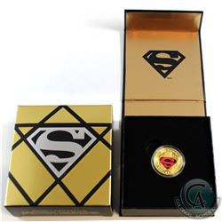 2014 Canada $100 Iconic Superman: Adventures of Superman #596 14K Gold Coin.