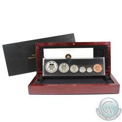 2011 Canada 1911 Silver Dollar Centennial Special Edition Proof Set. Coins may contain light toning.