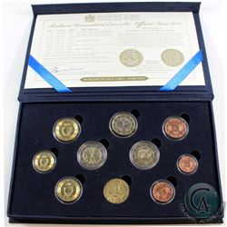 Malta Issue: Brilliant Uncirculated 9-coin Euro Set with Byzantine Period Replica Coin Issued by the