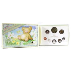 SCARCE! 2006 Canada Baby Sterling Silver Proof Set with Medallion and Loon. Please note outer box co