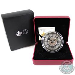2017 Canada $50 Peace Tower Clock 90th Anniversary Fine Silver Coin (Tax Exempt). SOLD OUT AT THE MI