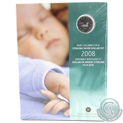 2008 Canada Baby Lullabies CD & Sterling Silver Dollar Set ***Sealed***