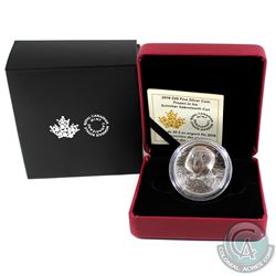 2018 Canada $20 Frozen in Ice - Scimitar Sabretooth Cat Fine Silver Coin (Tax Exempt).