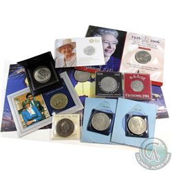 Royal Mint Issue: Group Lot of Great Britain Commemorative Coins Mostly from the Royal Mint. You wil