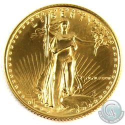 United States Mint Issue: 1986 USA $10 1/4oz Fine Gold Eagle (Tax Exempt)