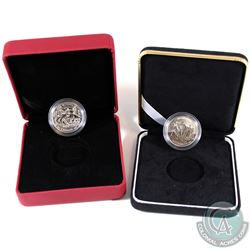 Pair of 2005 Canada 50-cent Sterling Silver Coins from the WWII 6-coin Battle of Britain Set. You wi
