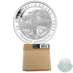 2012 Canada $20 Group of Seven - Franklin Carmichael Fine Silver Coin. Comes in original sealed card