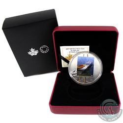 2017 Canada $20 En Plein Air - A Paddle Awaits Fine Silver Coin (Tax Exempt)