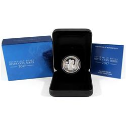 Perth Mint Issue: 2017 Australia $1 Koala High Relief Silver Proof Coin (Tax Exempt).
