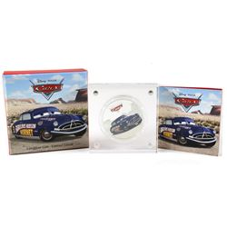 New Zealand Mint Issue: 2017 Niue $2 Disney Pixar Cars - Doc Hudson Silver Proof Coin (TAX Exempt)