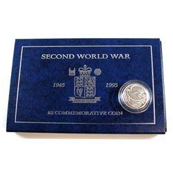 Royal Mint Issue: 1945-1995 UK 2-Pound Commemorative Coin produced by The Royal Mint.