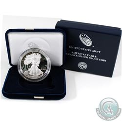 United States Mint Issue: 2018 USA 1oz Fine Silver Proof American Eagle (Tax Exempt)