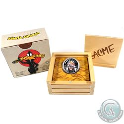 2015 Canada $20 Looney Tunes Classic Scenes Merrie Melodies Fine Silver Coin (capsule has a sticker