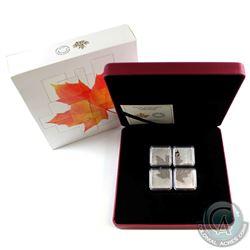 2017 Canada $3 Maple Leaf Quartet 1oz. Fine Silver (Tax Exempt)