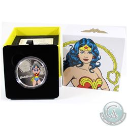 2016 Canada $20 DC Comics - The Amazing Amazon Fine Silver Coin (Tax Exempt)