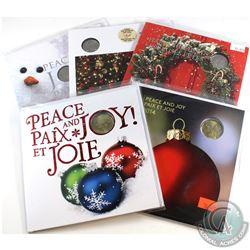 2011-2015 Canada Holiday Commemorative Decimal Gift Sets. 5pcs