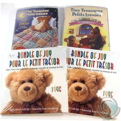 1995-2001 Canada Baby Commemorative Decimal Gift Sets Sealed in Original Plastic Wrap. You will rece